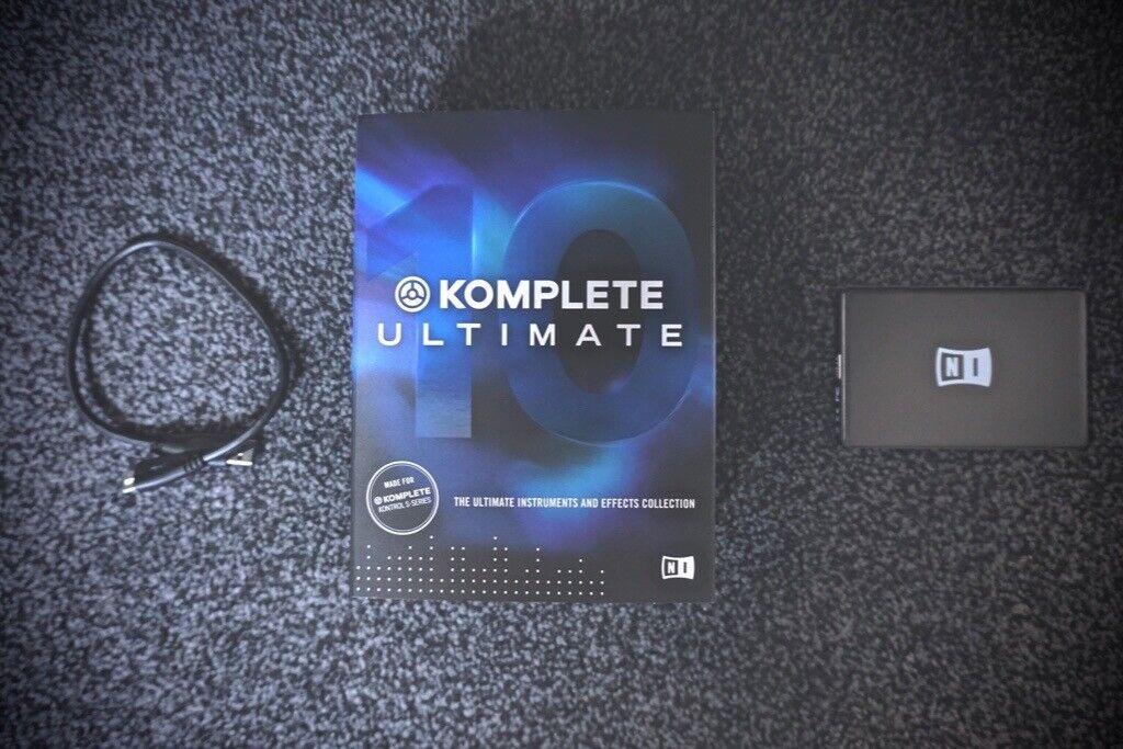 Native Instruments Komplete 10 Ultimate Hard Drive + Full License | in  Haringey, London | Gumtree