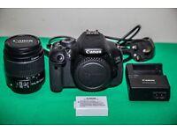 Canon 600D Digital SRL Camera £310