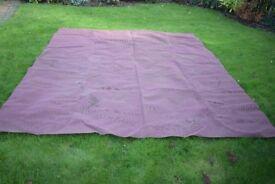 Breathable ground carpet - 250cm x 290cm