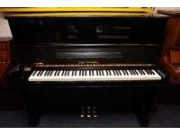 Carl Steinberg Upright Piano + Adjustable Stool - Sykes & Sons Pianos