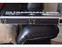 BEHRINGER PRO 1502HD STEREO GRAPHIC EQUALIZER