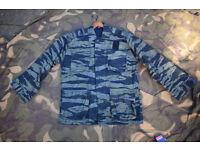 Vintage Greek (Hellanic) SF Tiger Stripe Jacket (size Large)