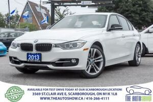 2013 BMW 3 Series 328i xDrive NAVI Red-Interior