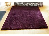 Purple rug ( NOW SOLD awaiting collection)