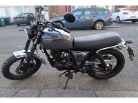 SOLD Brixton BX 125cc Cat-N (not CBR 125, Vespa, YZF 125, Piaggio)