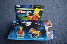 Lego Dimensions Simpsons fun pack 71211 - 100 % complete
