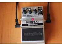 Digitech Digidelay delay effects pedal for guitar