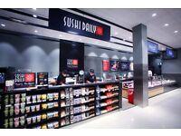 SUSHI BAR FRANCHISE FOR SALE INSIDE TOP SUPERMARKET- ALL UK !