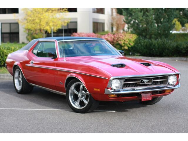 Ford : Mustang Grande 1971 Ford Mustang Grande 351 Cleveland
