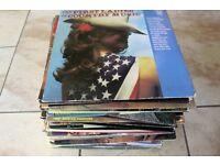 COUNTRY MUSIC - 70 X VINTAGE LP JOB LOT - VARIOUS ARTISTS