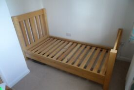 Single pine bed for sale