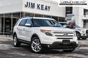 2014 Ford Explorer LIMITED 4WD W/NAVIGATION, LEATHER, MOONROOF