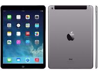 Apple iPad Air 16GB, Wi-Fi + Cellular. Space Grey. With Logitech Magnet TYPE + Case