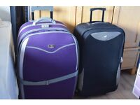 2 TRAVEL BAGS WITH WHEELS