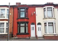 63 Cameron St, Kensington, Liverpool. 2 bed mid terrace with GCH & DG, fitted kitchen. LHA welcome.