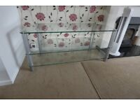Glass corner TC stand immaculate condition