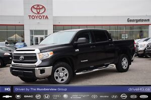 2014 Toyota Tundra CrewMax SR5 with chrome step bars
