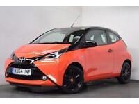 TOYOTA AYGO 1.0 VVT-I X-CITE 3d 69 BHP (orange) 2014