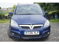vauxhall zafira 2006 diesel sale or swap with small car