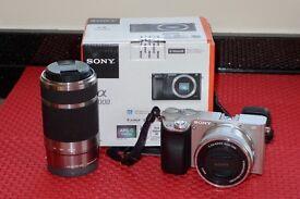 Sony Alpha 6000 + 16/50 Lens + 55/210 Lens