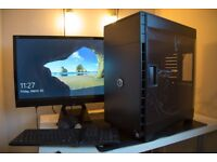 GAMING / VIDEO EDITING PC - Professional Package - 28 inch monitor INCLUDED