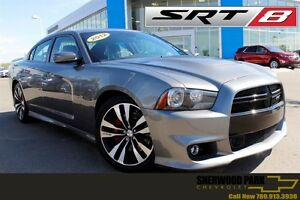 2012 Dodge Charger SRT8 6.4L Hemi| Sun| Nav| H/C Leath| Adpt Cru