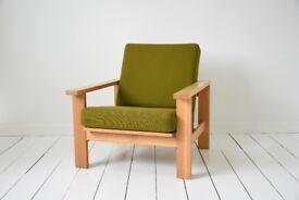 Mid Century, Danish, Retro, Modern armchairs by Hans Wegner
