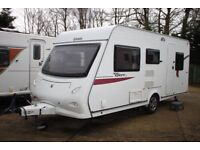Elddis Explore 495 2010 5 Berth Caravan + Motor Movers