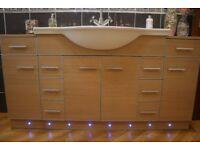 Designer Sink c/w Roper Rhodes Unit