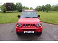 Reduced!! 2003 Suzuki Jimny JLX Red