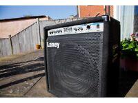Laney Bass Amp. Perfect for gigs/studio/home setup