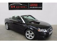 AUDI A4 SLINE 2000 S TRONIC CONVERTIBLE ** NATIONWIDE WARRANTY ** 100% HPI CLEAR ** SERVICEHISTORY *