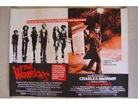 the warriors ' original film poster