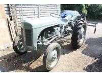 Little grey fergie TE20 petrol-TVO.1952 new rear tyres + many other new parts.