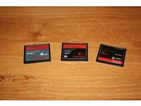Canon Compact Flash Cards 28GB
