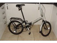 Halfords Apollo Transition Folding Bike (with carry Bag)