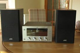 JVC Wireless Micro DAB Hi-Fi with Valve Amplifier UX-D150