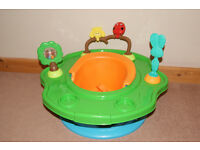 SummerAS NEW Infant 3 Stage Super Seat Forest Friends, Baby Seat with Activity Tray