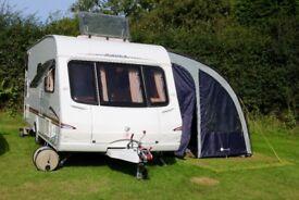 Swift Charisma 570 6-berth, 2006 Tourer Caravan with FIXED BUNKS