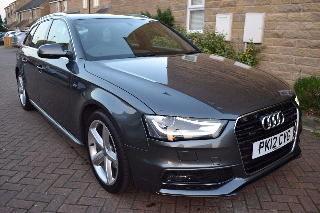 2012 audi a4 avant 2 0 tdi quattro s line 177 bhp 92k fsh stunning example monsoon grey in. Black Bedroom Furniture Sets. Home Design Ideas