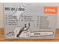 Stihl MS 261 2015