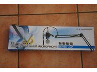 Microphone scissor arm / boom for desktop studio, table mount