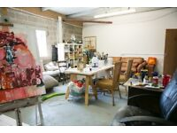 Large, light industrial studio near Bristol Temple Meads with natural light: Freestone Studios