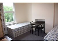 Bed in a twin room to share - all bills included