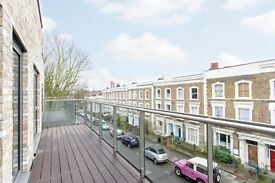 BRAND NEW LARGE 2 BED 2 BATH APARTMENT IN KENTISH TOWN WITH ALL MODERN APPLIANCES