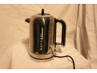 Boxed Dualit Classic Kettle in polished finished chrome. Used once.