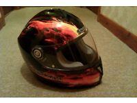 Fireshark motorcycle helmet