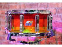 Snare Drum - Ludwig Vistalite Tequila Sunrise