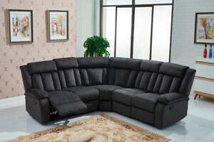 ifurniture Hot Deals --Reclining sectional sofa- two colors available--one year warranty