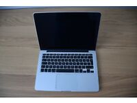 Macbook Pro Retina 13 inch 512gb Late 2013 only 167 charging cycles